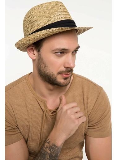 DeFacto Hasır Şapka  Kahve